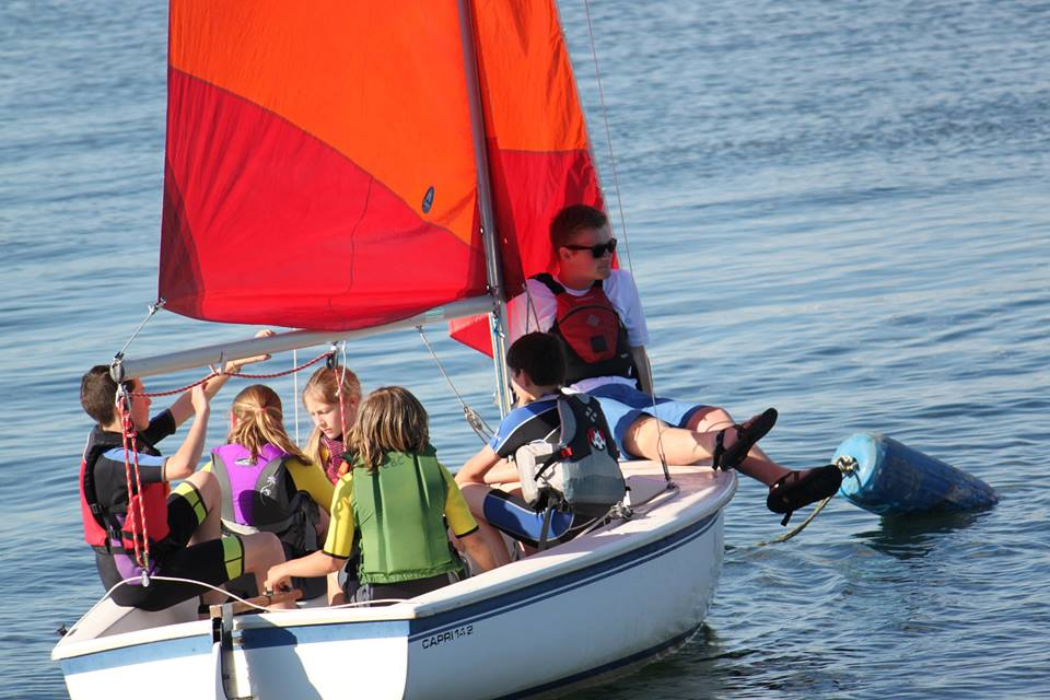 Youth in Dinghy