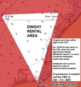 Dinghy Rental Map