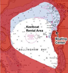 Keelboat Rental Map
