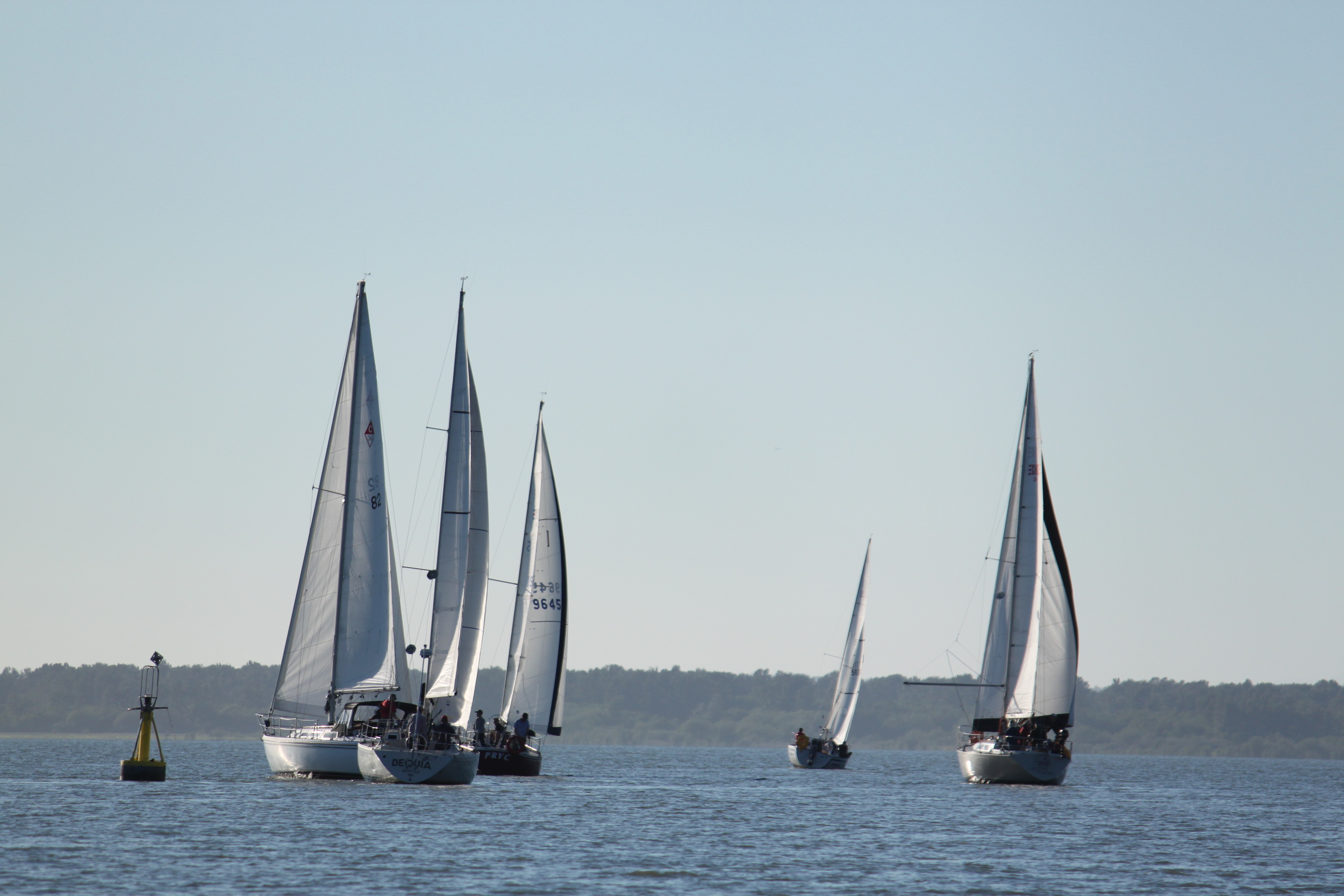 racing keelboats