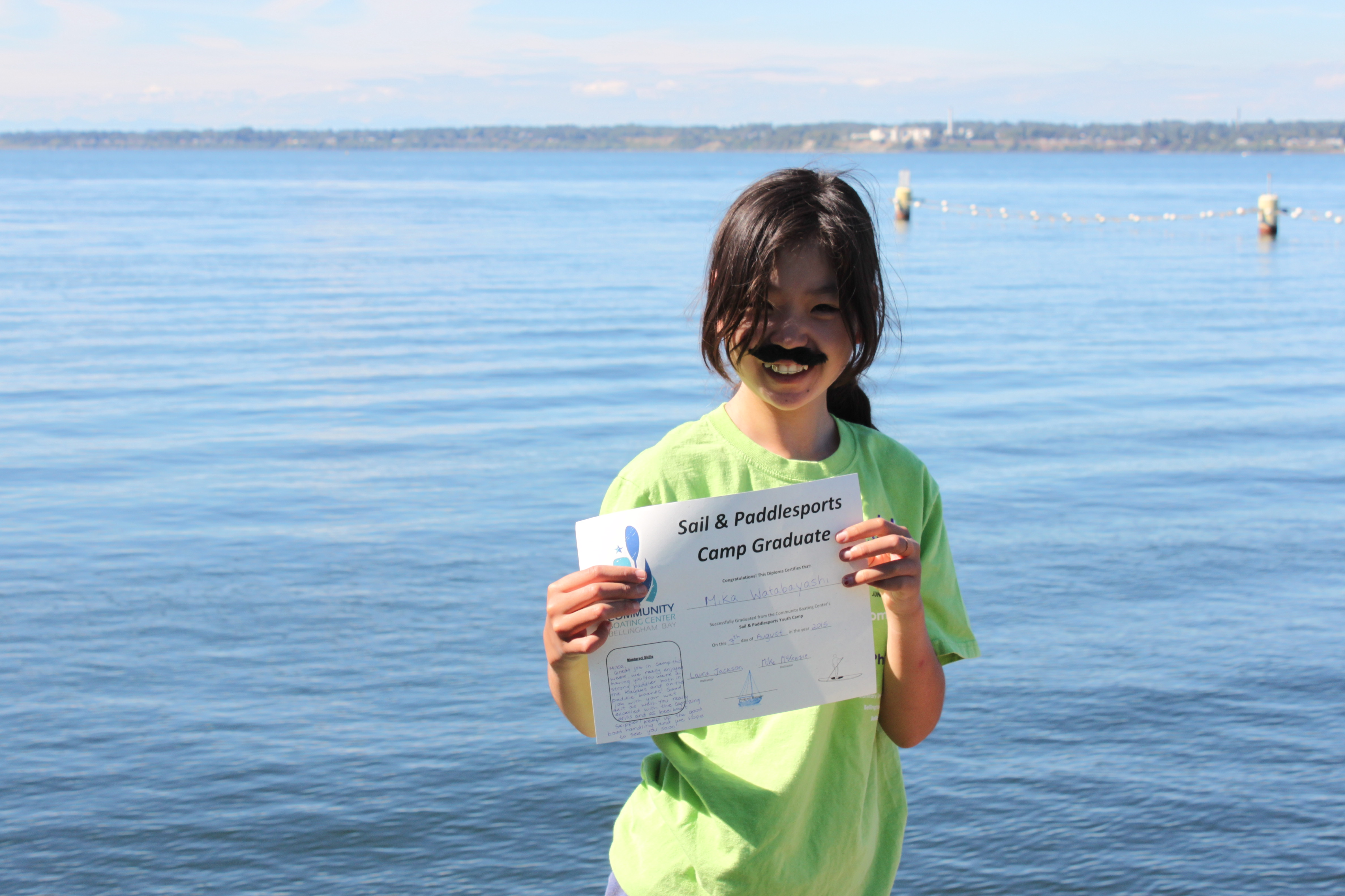 Copy of Sail & Paddlesports Camp Graduate 2015